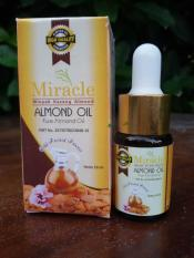 MIracle obat penghilang kantung mata Almond Oil 10ml