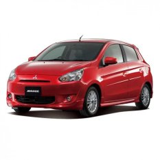 Mitsubishi Mirage Exceed AT - Merah