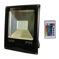 Miyalux Lampu Sorot LED SMD 50watt Multicolor