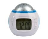Harga Mk Jam Alarm Musik Dengan Kalender Thermometer Star Sky Projection Thermometer Merk Oem