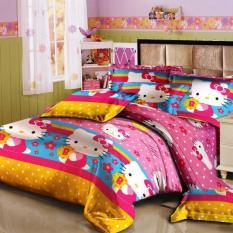 Harga Monalisa Sprei Funny Kitty 180X200 Paling Murah