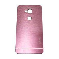 Motomo For Huawei Honor 5X GR 5 Hardcase Backcase Metal Case - Pink