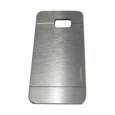 Motomo For Samsung Galaxy S6 EDGE+/ Note 5 EDGE Hardcase Backcase Metal Case - Silver