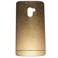 Motomo Hardcase Backcase Lenovo Vibe K4 Note A7010  - Gold