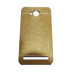Motomo Hardcase Backcase Untuk Huawei Y32 2016 / Y3II / 3C Lite Metal Case - Gold