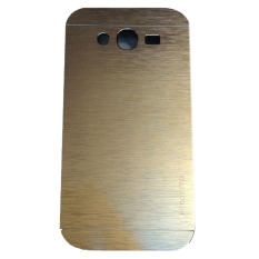 Motomo Samsung Galaxy J1 Ace J110 Hardcase Backcase  Metal Case - Gold