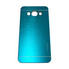 Motomo Samsung J5(2016) / J510 Metal Hardcase / Metal Back Cover / Hardcase Backcase / Metal Case – Biru Muda