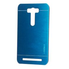 Motomo Untuk Asus Zenfone Laser 5.0 ZE500KL Hardcase Backcase Metal Case - Biru Muda