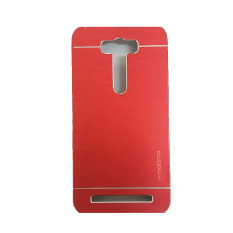Motomo Untuk Asus Zenfone Selfie ZD551KL Hardcase Backcase Metal Case - Merah