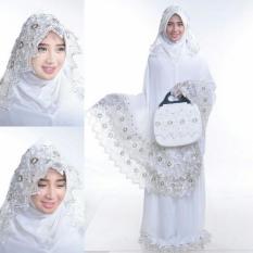 Jual Mukena Adinda Siti Khadija Silver Antik