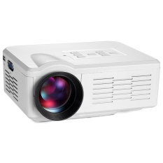 Multimedia Mini LED Proyektor 800 Lumens LCD Display LED Bioskop Home Cinema untuk Film Malam Video Game 640*480 USB/SD/VGA/HDMI/AV/Micro USB/ATV