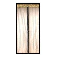 Harga Mychoice Tirai Kasa Pintu Magnet Anti Nyamuk Klasik Coklat L 110 X 220 Cm Baru