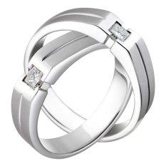 Nadien Shop Cincin Couple 53 - American Diamond A-III
