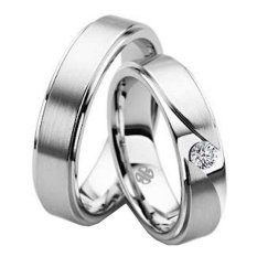 Nadien Shop Cincin Couple 75 - American Diamond A-III