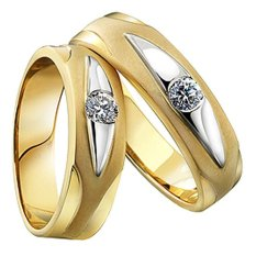 Ulasan Lengkap Nadien Shop Cincin Kawin 52 Gold Plated American Diamond A Iii