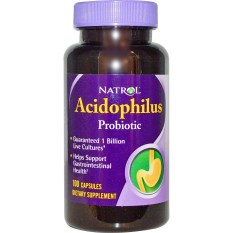 Toko Natrol Acidophilus Probiotic 100 Capsules Online Dki Jakarta