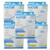 Harga Natur 5 Box Kantong Asi Breast Milk Storage Bags Bpa Free Isi 30 Box Yang Bagus