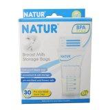 Toko Natur Kantong Asi Breast Milk Storage Bags Bpa Free Isi 30 Online Terpercaya