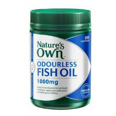 Review Nature S Own Fish Oil Odourless 200 Kapsul Terbaru