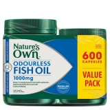 Spesifikasi Nature S Own Fish Oil Odourless 600 Capsules Beserta Harganya