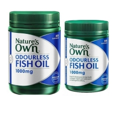 Daftar Harga Nature S Own Fish Oil Odourless 600 Capsules Natures Own
