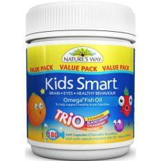 Spesifikasi Nature S Way Kids Smart Omega 3 Fish Oil Trio 180 Kapsul Murah Berkualitas
