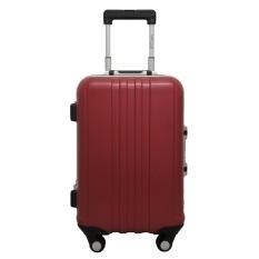 Diskon Besarnavy Club Tas Koper Kabin Koper Hardcase Fiber Abs Frame 4 Roda Kunci Tsa 3178 Size 20 Inch Burgundy