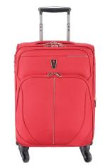 Navy Club Tas Koper Kabin - Koper Softcase Nylon 4 Roda Putar - 3793 18 Inch - Merah