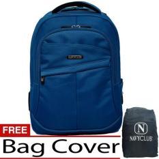 Harga Navy Club Tas Ransel Laptop 8239 Backpack Up To 15 Inch Bonus Bag Cover Biru Yg Bagus