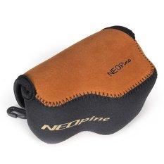 NEOpine A6000-2 Kamera Bag Case dengan Bahan Selam Berkualitas Tinggi untuk Sony A6000 16-50mm Lensa