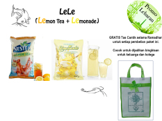 Promo Nestle Lele Lemon Tea Lemonade By Nestle Professional Nestle Terbaru