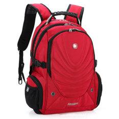Beli Baru Merek Swissgear Waterproof 15 Laptop Swiss Pria Dan Wanita Backpack Komputer Notebook Bag Red Swissgear Murah
