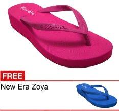 Harga New Era Csa Zoya Fushia Gratis Sandal Yg Bagus