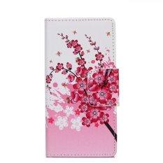 Baru Fashion Indah Bunga Kulit Cover untuk NOKIA Lumia 535 N535 (Aneka Warna)