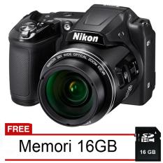 Jual Nikon Coolpix L840 Wifi Nfc 16 Mp 38X Optical Zoom Hitam Gratis Memori 16 Gb Branded Murah