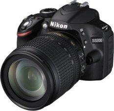 Nikon D3200 Kit 18-105mm VR - Hitam