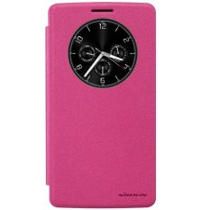 Nillkin LG G4 Stylus Sparkle Leather Case Original - Merah