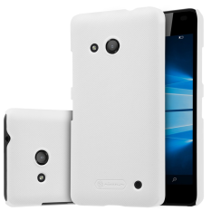 Nillkin Plastic Frosted Shield Case for Microsoft Lumia 550 - Putih + free screen protector