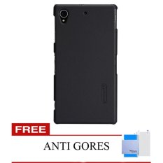 Jual Nillkin Sony Xperia Z1 L39H Super Frosted Shield Hard Case Original Hitam Gratis Anti Gores Clear Original