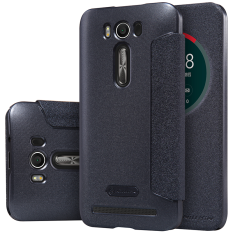 Promo Toko Nillkin Sparkle Series New Leather Case For Asus Zenfone 2 Laser 5 Ze500Kl Hitam