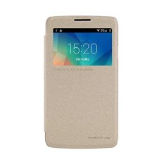 Nillkin Sparkle Series New Leather Case for LG L60 (X145) - Emas