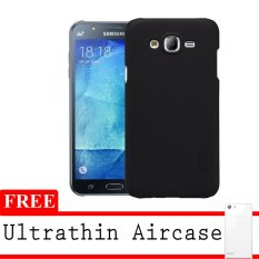 Nillkin Super Frosted Hardcase For Samsung Galaxy J1 Ace- Hitam + Gratis Ultrathin