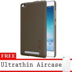 Beli Nillkin Super Frosted Hardcase Untuk Xiaomi Redmi 3 Pro Coklat Gratis Ultrathin Secara Angsuran