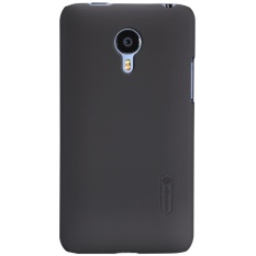 Nillkin Super Frosted Shield for Meizu MX4 Pro (4Pro) - Hitam + Free Screen Protector
