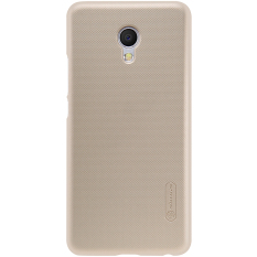 Nillkin Super Frosted Shield for Meizu MX6 - Emas + Free Screen Protector