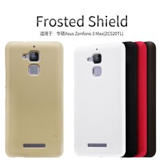 Situs Review Nillkin Hard Case Super Frosted Shield Asus Zenfone 3 Max Zc520Tl Black Hitam