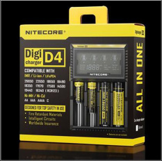 Promo Nitecore Digicharger Universal Battery Charger 4 Slot For Li Ion And Nimh D4