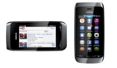 Beli Nokia Asha 308 Dual Sim Hitam Dengan Kartu Kredit