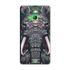 Jual Pc Plastik Kartun Gambar Gajah Case Untuk Nokia Lumia 535 Multicolor