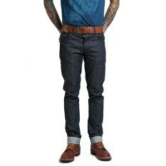 Jual Nudie Jeans Grim Tim Dry Pure Indigo Selvage Biru Baru